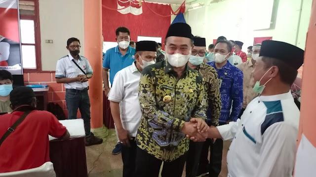 Lingkup  Perkebunan.Tanah Bumbu Masuk Program Vaksinasi  7 Juta Warga Diantara 17 Propinsi