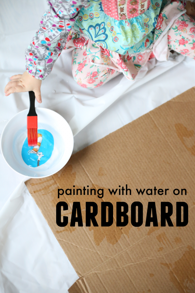 https://www.icanteachmychild.com/painting-with-water-on-cardboard/