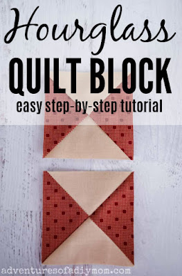 hourglass quilt block