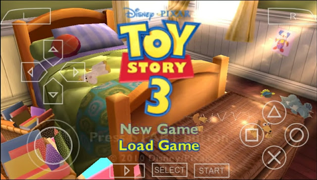 Toy Story 3 ISO CSO PPSSPP