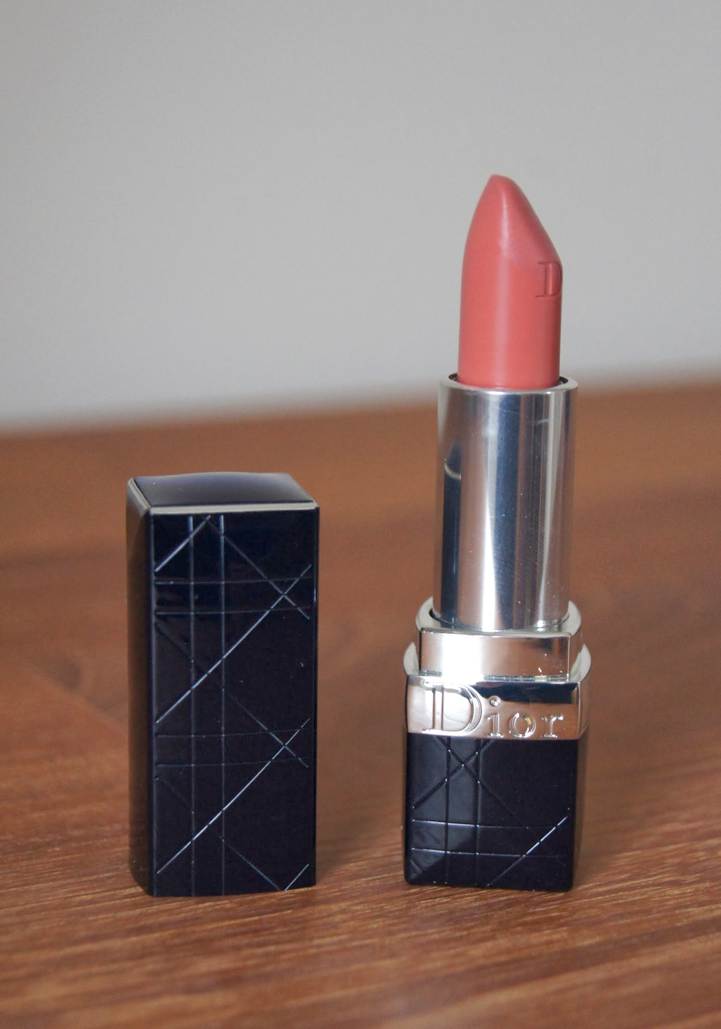 Dior Rouge Dior Lipstick Review 169 Grege Swatch