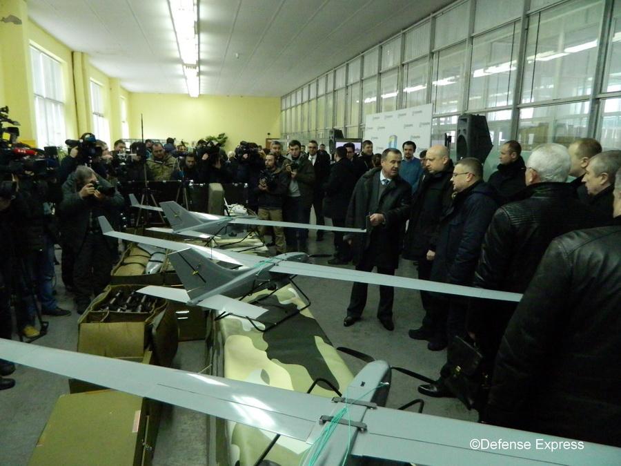 ЗС України отримали перші БПЛА Spectator