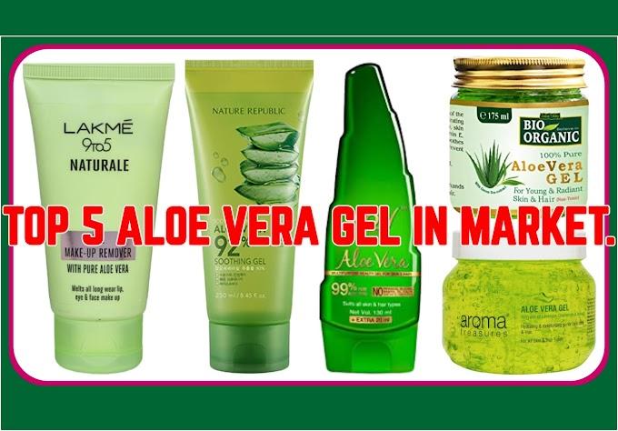 Top 5 Aloevera Gel In Market