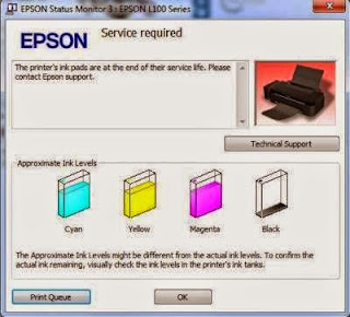 Epson Service Required