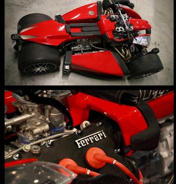 Most Expensive Mercedes >> Auto: Lazareth Wazuma V8 :motorcycle of ferrari engine