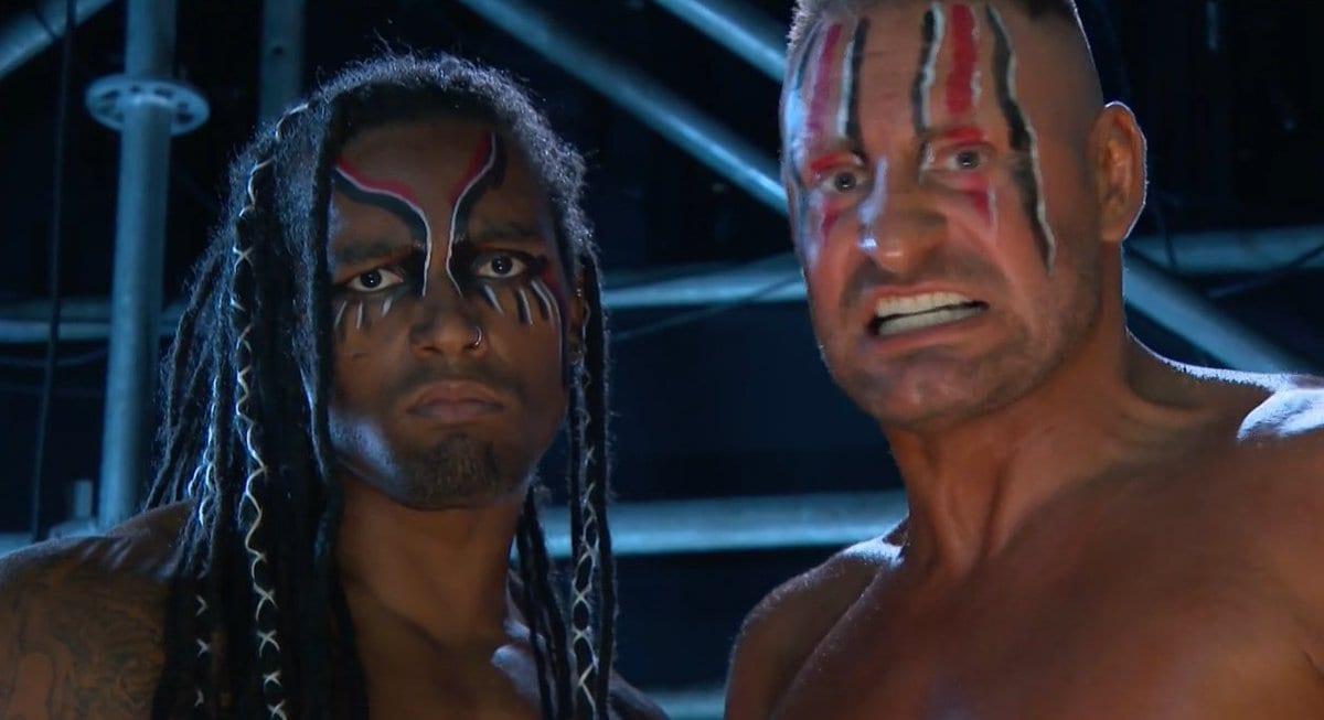 T-BAR e Mace aparecem como novo visual no WWE RAW