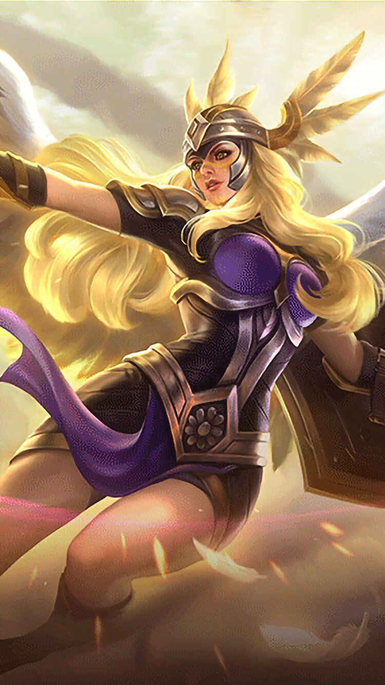 Wallpaper Freya Valkyrie Full HD for Android and iOS