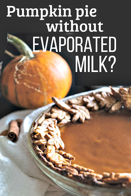 Can you make pumpkin pie without evaporated milk?