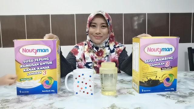 Susu Kambing Susu Tepung Nouqman