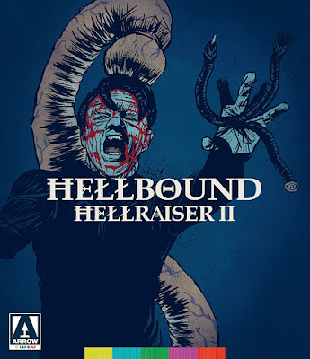 Cover art for Arrow Video's Special Edition of HELLBOUND: HELLRAISER II.