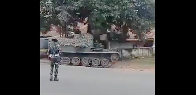 Viral! Tank TNI Turun ke Perbatasan Bekasi-Bogor, Publik: Buat Takut-takuti Pemudik?