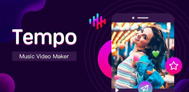 تنزيل Tempo - Music Video Editor with Effects VIP 2.2.2.4  تطبيق صنع الفيديو الموسيقي لنظام الاندرويد