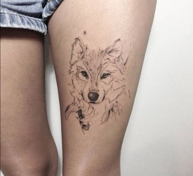 20 wolf tattoo ideas and their different meanings
