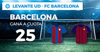 Paston Megacuota Levante vs Barcelona 16 diciembre