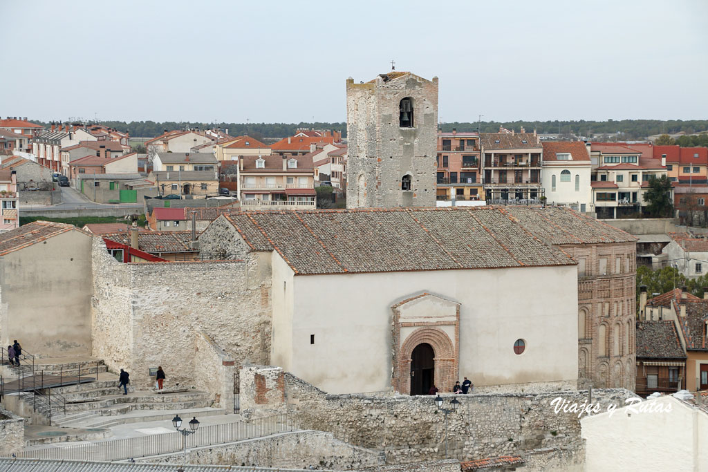Vista general de la Iglesia de San Esteban, Cuéllar
