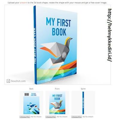 Cara membuat cover buku dengan mudah