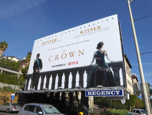 Crown season 2 billboard