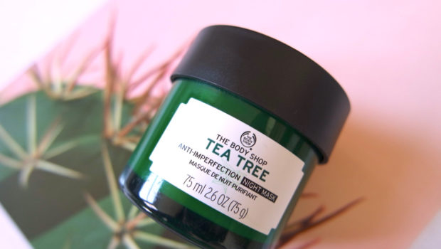Atasi Jerawat dengan Masker Tea Tree dari The Body Shop