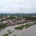 Chuvas continuam no sul da Bahia, deixam pontes submersas e famílias desalojadas