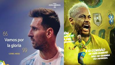 Pertarungan Sejati Nomor Punggung 10 Leonel Messi vs Neymar Junior