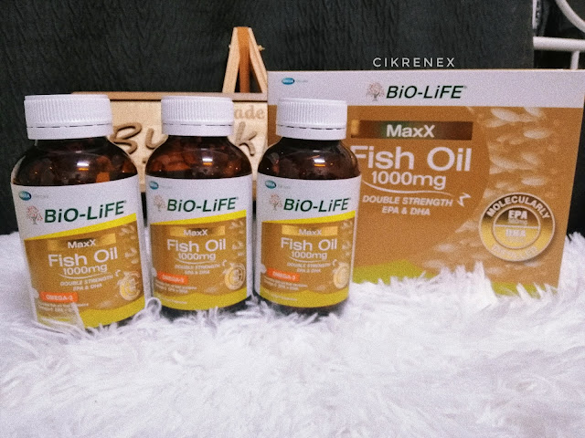 Bio-Life Maxx Fish Oil 1000mg Double Strength