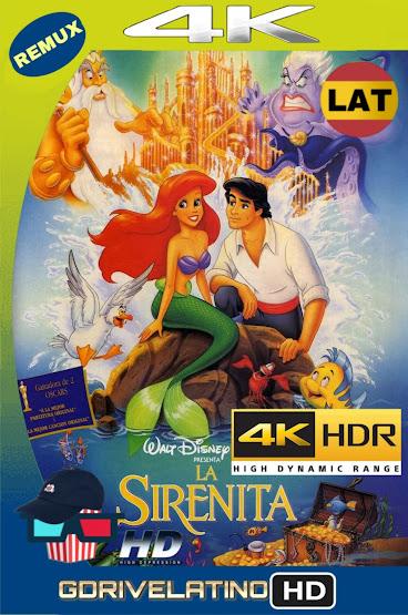 La Sirenita (1989) BDRemux 4K HDR Latino-Ingles MKV