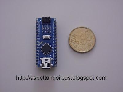 Fig. 7 - Modulo Arduino Nano V3.0 completo - foto di Paolo Luongo