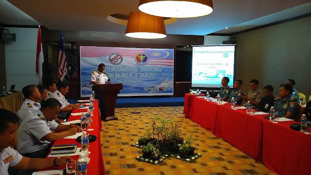 Bakamla RI/IDNCG dan APMM Gelar Patkor Optima Malindo Ke-28 di Batam