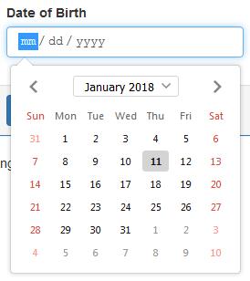 angular bootstrap datepicker