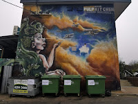 Canberra Street Art | Ainslie mural by Goodie