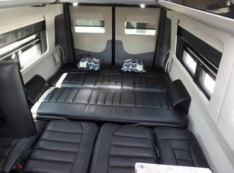 Mercedes sprinter interior images for Mercedes benz corporate office complaints
