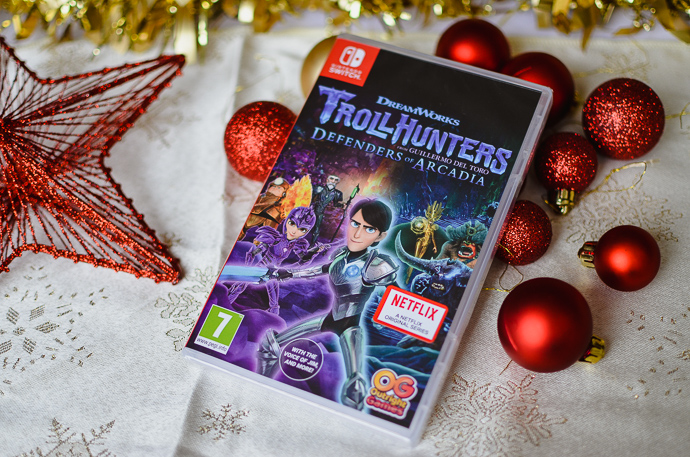 gamer kids gift guide, Nintendo Switch games, Trollhunters