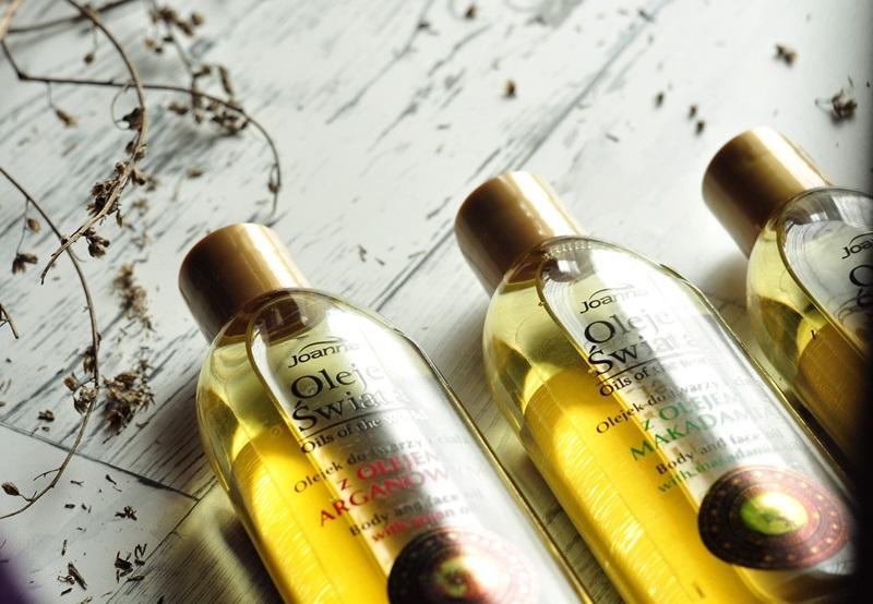 oleje świata joanna olej arganowy olej makadamia olej migdałowy