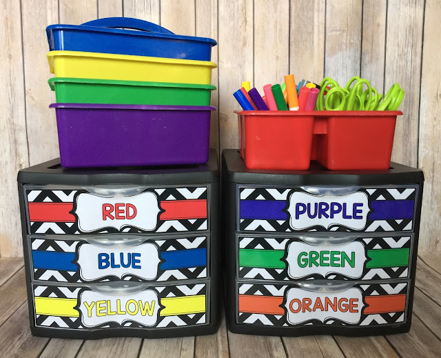 Crayon Storage Ideas for the Classroom