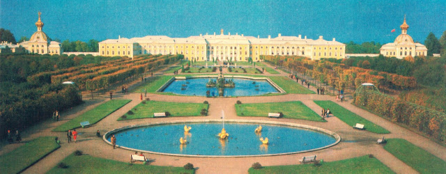 Sankt Petersburg - Palatul Peterhof -fost Petrodvorets