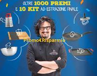 Logo Concorso ''Primo Anno ALDI'': vinci oltre 1.000 premi e 10 kit di prodotti firmati Alessandro Borghese