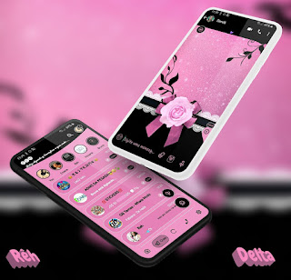 Elegant Rose Theme For YOWhatsApp & Delta WhatsApp By Reh