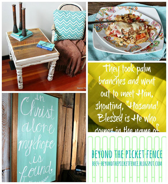 rustic table, hand lettered sign, chicken recipe