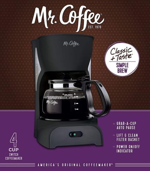 Mr. Coffee DR5-RB Simple Brew Coffee Maker