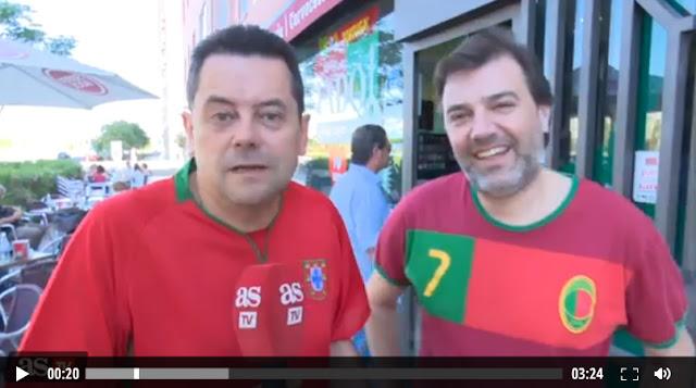 Eurocopa 2016 Roncero-Cristiano-Portugal