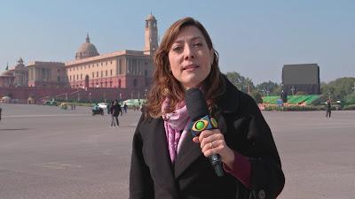 A repórter Sônia Blota revela os segredos da Índia - Divulgação/Band