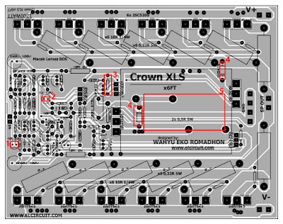 Power Amplifier crown troubleshooting