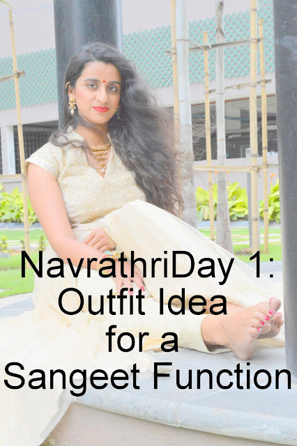 Navrathri Day 1: Styling an IndoWestern look for your sister's wedding image
