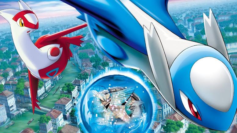 Latios e Latias Pokémon Heroes