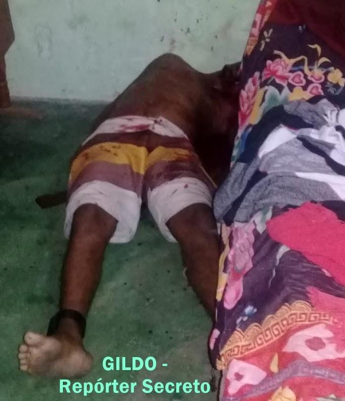 ASSASSINATO: Homicídio é registrado na madrugada desta Quarta-feira na rua 5 de Julho em Itabaiana.
