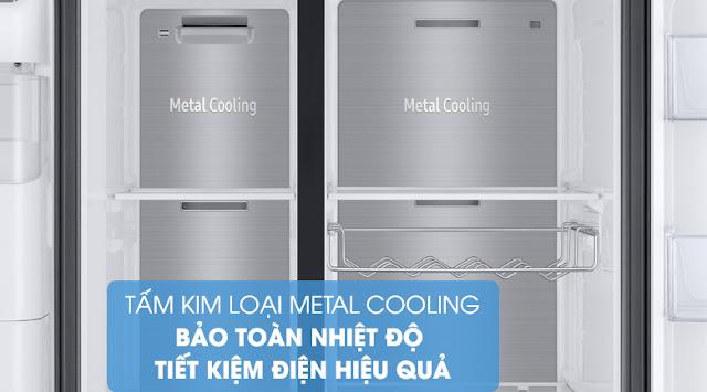 Tủ lạnh Samsung Inverter 602 lít RS65R5691B4/SV