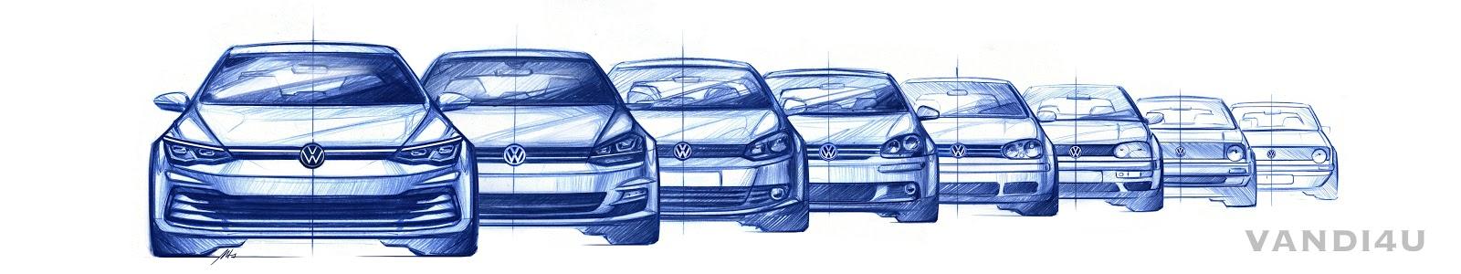 2020 Volkswagen Golf design revealed   VANDI4U