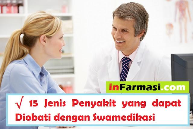 Penyakit yang dapat diobati dengan swamedikasi