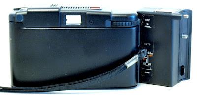 Olympus XA2, A11 Flash, Back