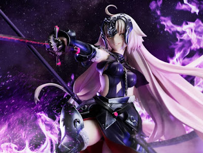 Jeanne D'Arc Alter 1/7 de Fate / Grand Order, Licorne.